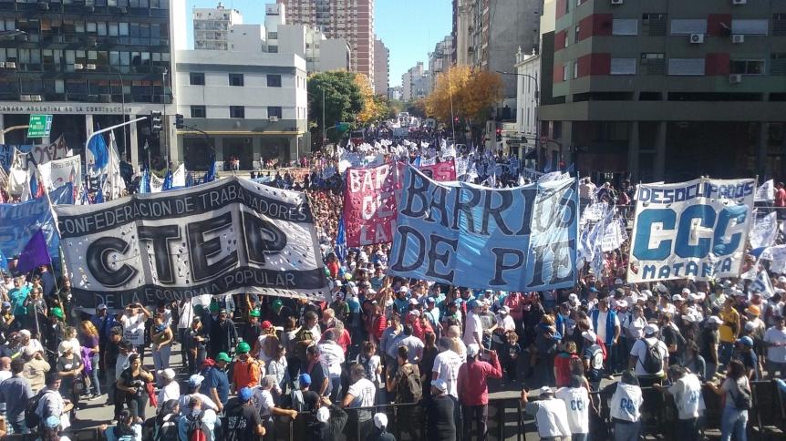 """Movimientos Sociales y la Izquierda realizaron actos por el """"Día del  Trabajador"""""""